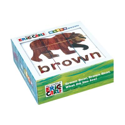 Eric Carle Brown Bear, Brown Bear, What Do You See? Block Puzzle By Carle, Eric (ILT)